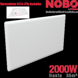 Radiadores-electricos-noruego-Nobo-2000w-termostato incluido