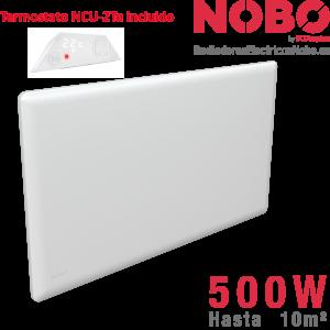 Radiadores-electricos-noruego-Nobo 500w-termostato incluido