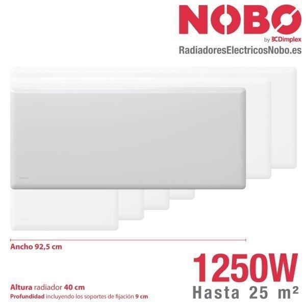 Radiadores-electricos-noruego-Nobo-dimensiones-1250W