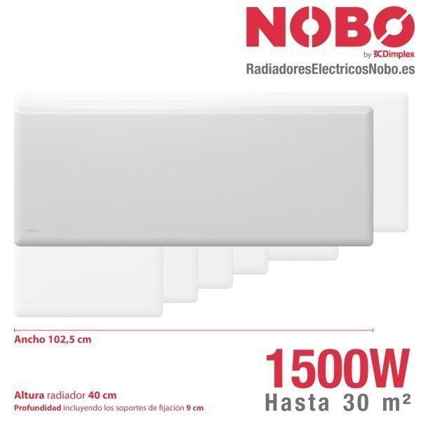 Radiadores-electricos-noruego-Nobo-dimensiones-1500W